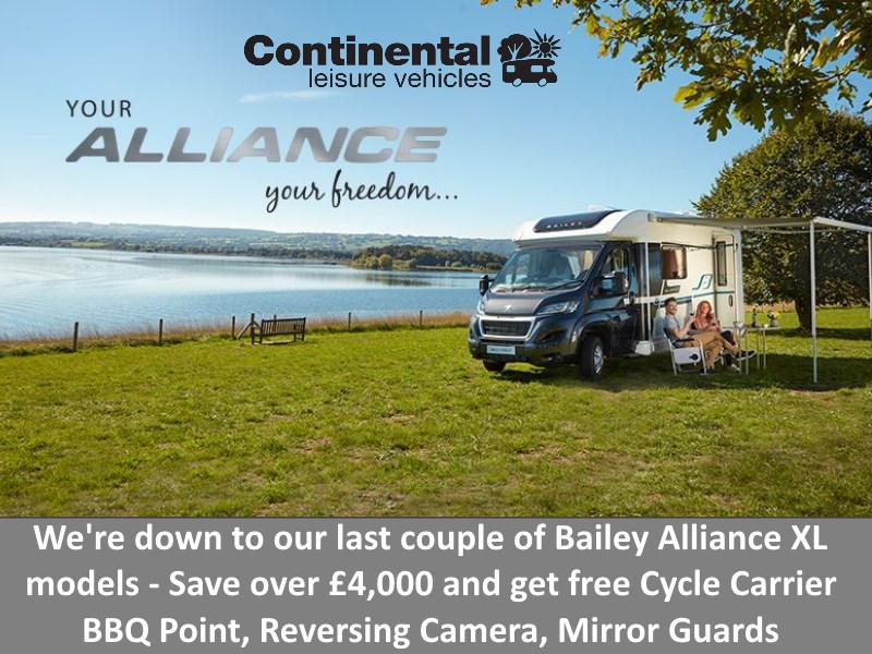 Last few Bailey Alliance Models