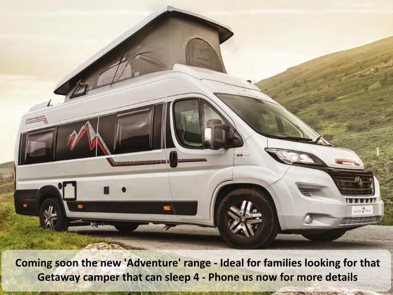 2020 Autotrail Adventure Range Of Motorhomes For Sale