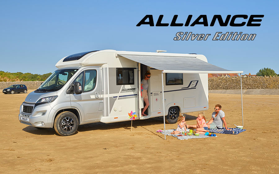 Bailey Alliance Silver Edition Range Available