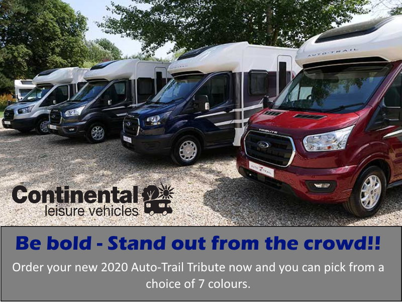 2020 Autotrail Tribute Range Of Motorhomes