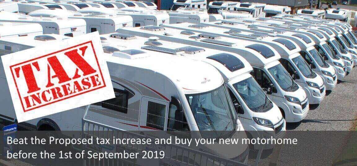 Beat the motorhome tax hike