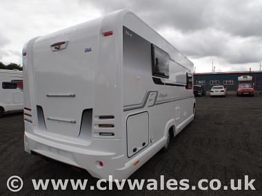 New 2019 Bailey Autograph 79-4 Motorhome | Continental